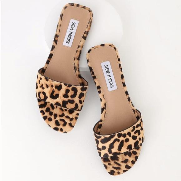 Steve Madden Shoes | Bev Leopard Slide